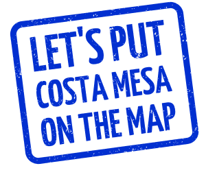 Let's put costa mesa on the map